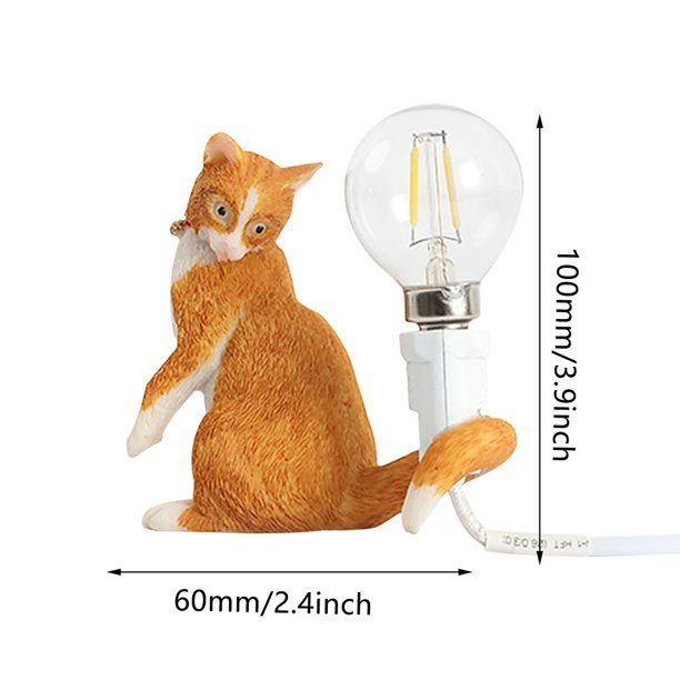 Cat Table Lamp size